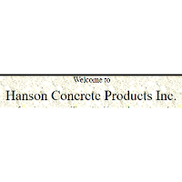 Hanson Concrete Products
